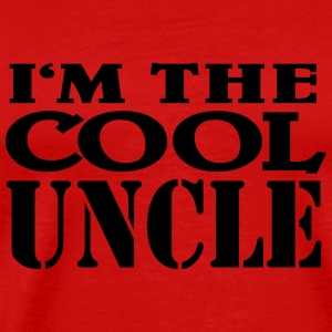 I'm the cool Uncle T-shirts - Mannen Premium T-shirt