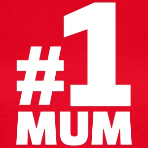 No. 1 Mum T-Shirts - Frauen T-Shirt