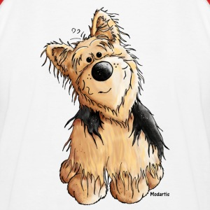 Yorkshire Terrier - Dog Shirts - Kids' Baseball T-Shirt