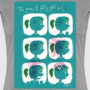 Process of good ideas T-Shirts - Frauen Premium T-Shirt