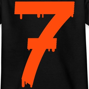 lucky number seven Shirts - Teenage T-shirt