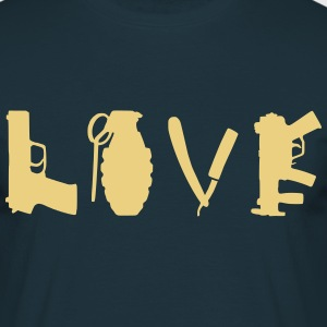 love_war Tee shirts - T-shirt Homme