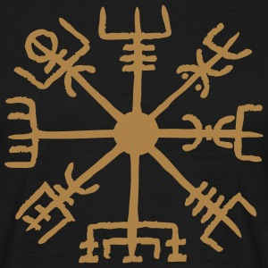 Vegvisir, Magic, Runes,  Protection & Navigation T-shirts - T-shirt herr