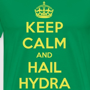 Keep calm and hail Hydra T-Shirts - Men's Premium T-Shirt