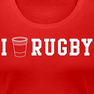 I Drink Rugby T-Shirts - Women's Premium T-Shirt