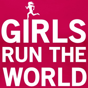 Girls Run the World T-Shirts - Women's Premium T-Shirt