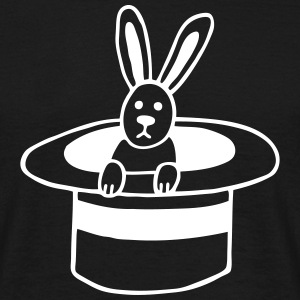 Rabbit in the cylinder T-Shirts - Men's T-Shirt