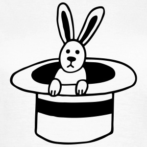 Rabbit in the cylinder T-Shirts - Women's T-Shirt