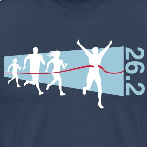 26.2 Finish Line Winner T-Shirts - Men's Premium T-Shirt