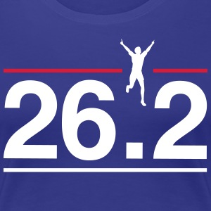 26.2 Finish Line T-Shirts - Women's Premium T-Shirt