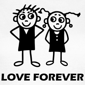 Couple - Love forever T-Shirts - Women's T-Shirt