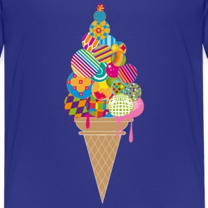 An ice cream cone Shirts - Teenage Premium T-Shirt