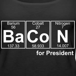 Bacon for President (you can change text) - Women's Premium Tank Top