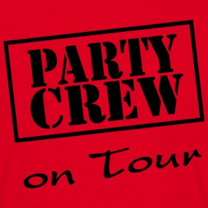 Party Crew on Tour T-shirts - T-shirt herr