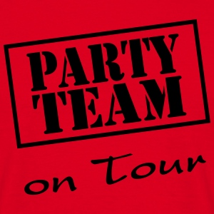 Party Team on Tour T-shirts - Herre-T-shirt