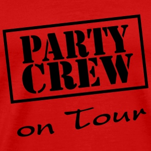 Party Crew on Tour T-shirts - Herre premium T-shirt