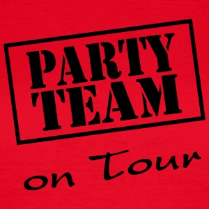 Party Team on Tour T-Shirts - Frauen T-Shirt