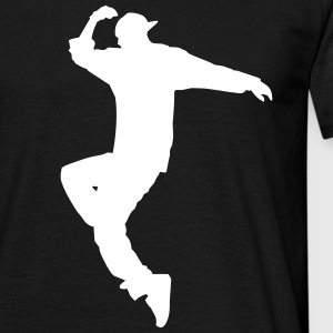 hip hop dancer T-Shirts - Männer T-Shirt