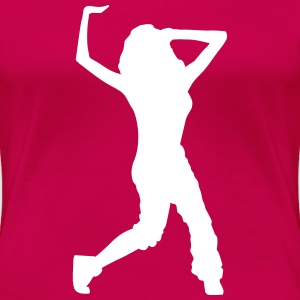 hip hop dancer T-Shirts - Frauen Premium T-Shirt