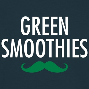 Green Smoothies (Moustache) T-shirts - Mannen T-shirt