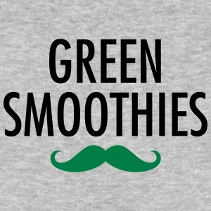 Green Smoothies (Moustache) T-shirts - Mannen Bio-T-shirt