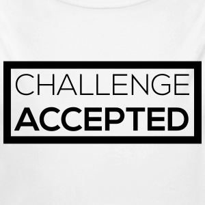 challenge accepted Pullover & Hoodies - Baby Bio-Langarm-Body