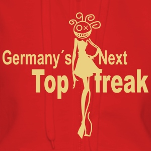 germany next top freak Pullover & Hoodies - Frauen Premium Kapuzenjacke