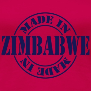 made_in_zimbabwe_m1 T-Shirts - Frauen Premium T-Shirt