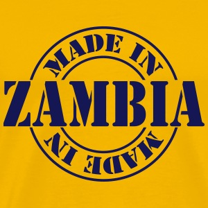 made_in_zambia_m1 T-shirts - Mannen Premium T-shirt