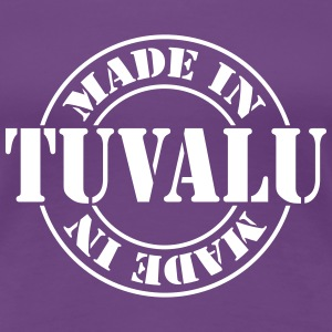 made_in_tuvalu_m1 T-skjorter - Premium T-skjorte for kvinner
