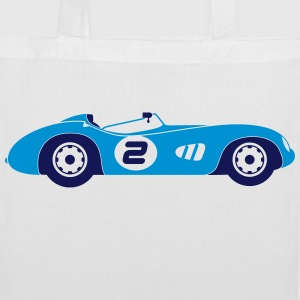 Race Cars (2c)++2014 Bags & Backpacks - Tote Bag