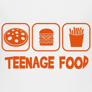 Teenage food Skjorter - Premium T-skjorte for tenåringer