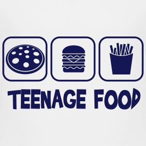Teenage food Camisetas - Camiseta premium adolescente