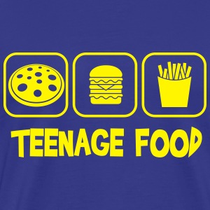 Teenage food Tee shirts - T-shirt Premium Homme