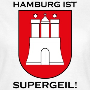 Hamburg Supergeil Werbung T-Shirts - Frauen T-Shirt