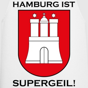 Hamburg Supergeil Werbung  Aprons - Cooking Apron