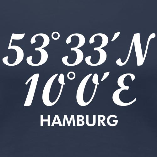 Hamburger Koordinaten von Hamburg
