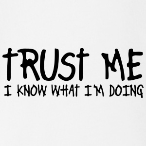 trust me i know what I am doing Skjorter - Økologisk kortermet baby-body