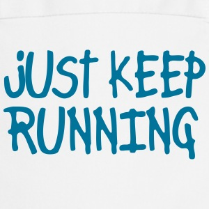 just keep running  Aprons - Cooking Apron