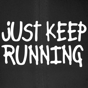 just keep running Kepsar & mössor - Flexfit basebollkeps