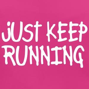 just keep running Accessoarer - Ekologisk babyhaklapp