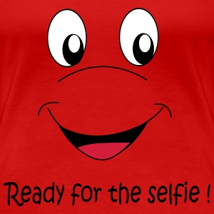 Ready for the selfie T-shirts - Premium-T-shirt dam