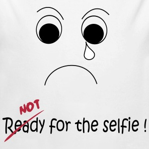 Not Ready for the selfie Pullover & Hoodies - Baby Bio-Langarm-Body