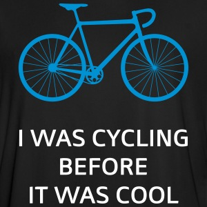 I Was Cycling Before It Was Cool T-shirts - Fotbollströja herr