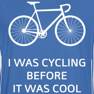 I Was Cycling Before It Was Cool T-shirts - Mannen voetbal shirt