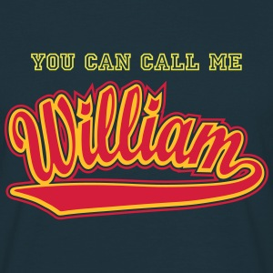 William - T-shirt personalised with your name T-Shirts - Men's T-Shirt