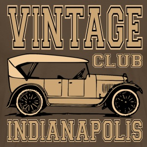 vintage car 02 T-Shirts - Men's Premium T-Shirt
