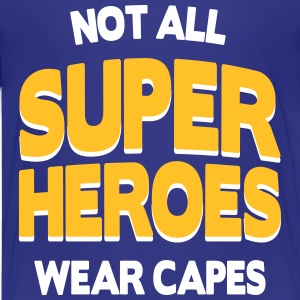 Not All Super Heroes T-shirts - Premium-T-shirt tonåring
