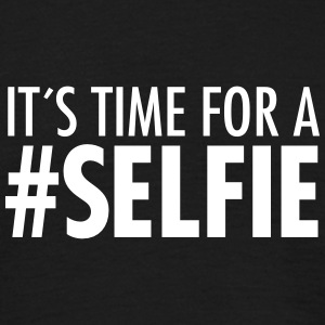 It´s Time For A #Selfie T-shirts - Mannen T-shirt
