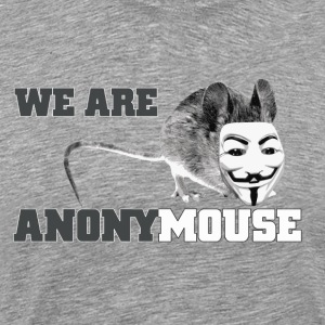 we are anonymouse - anonymous T-shirts - Premium-T-shirt herr